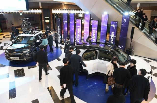 쉐보레, '트레일블레이저' 대대적 마케팅 활동 '시동'