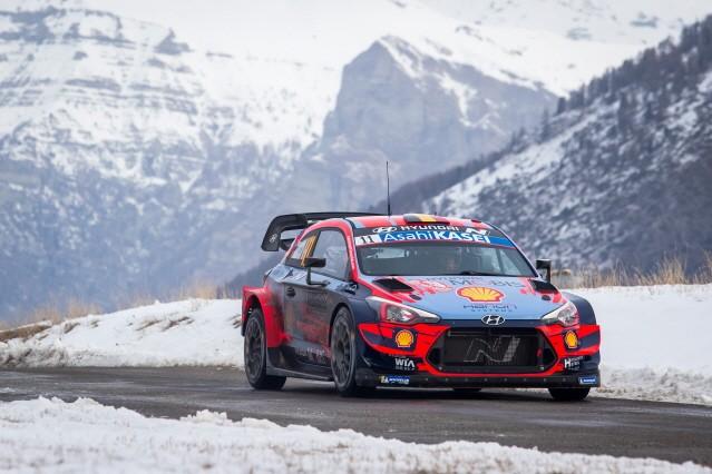 현대자동차 월드랠리팀, 2020 WRC 첫 대회 몬테카를로 랠리 우승