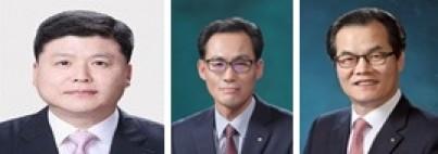차기 우리은행 최종 면접후보 3인으로 선정된 권광석(왼쪽부터), 김정기, 이동연 숏리스트 대상자.