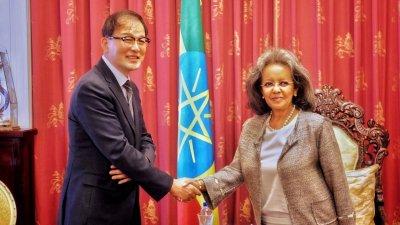 박종호 산림청장, 에티오피아 대통령 예방.. 황폐해진 산림 복원 방안 모색