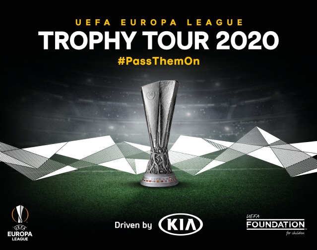 기아차, UEFA 유로파리그 트로피 투어 개최