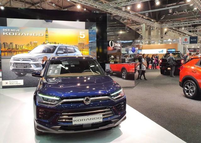 쌍용자동차, 유럽 수출 확대에 '총력'