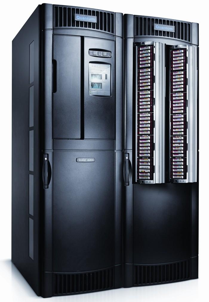 퀀텀 엔터프라이즈급 테이프 라이브러리 '스칼라(Scalar) i6000'