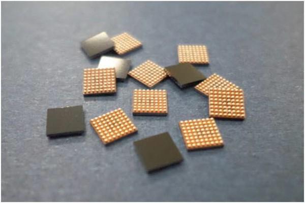 Chips based on HANA Micron's WLP technology (Reference: HANA Micron)