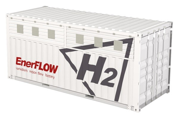 H2's EnerFLOW 430 paired with photovoltaic generation