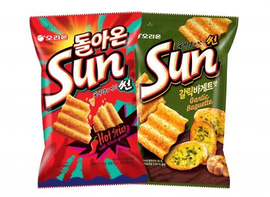 오리온 '태양의 맛 썬' 제품 출처=오리온