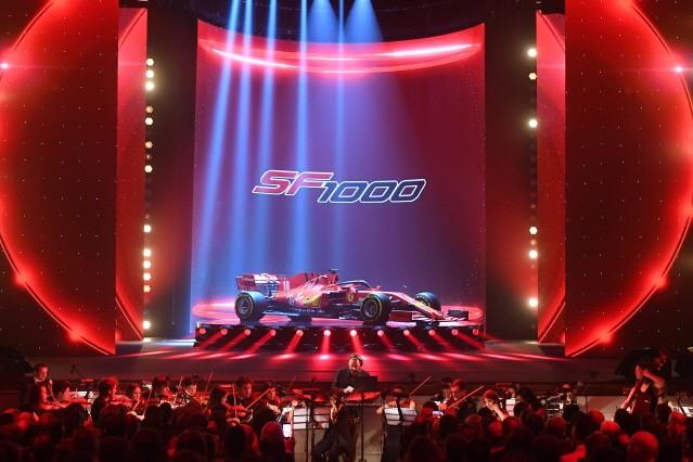 페라리, 2020시즌 F1 머신 SF1000 공개