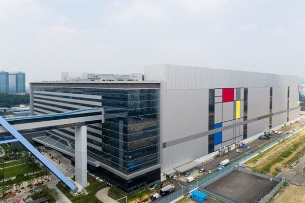 Samsung Electronics Foundry's production line (Reference: Samsung Electronics)