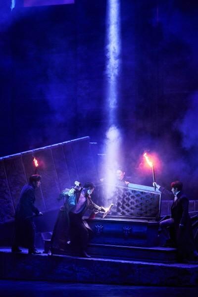 '드라큘라' 공연사진. 사진=오디컴퍼니 제공