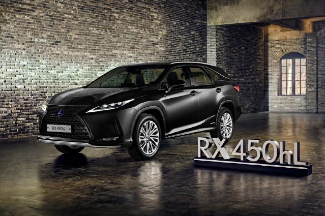 렉서스코리아, 리무진 타입 'RX 450hL' 선보여