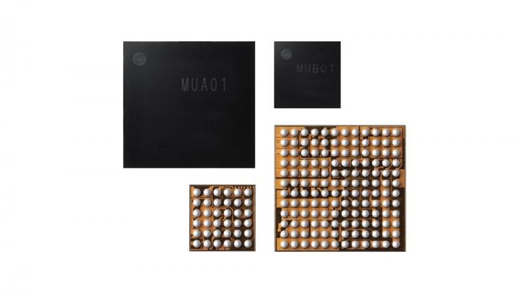 무선이어폰용 통합 전력관리칩 MUA01과 MUB01 [사진=삼성전자]