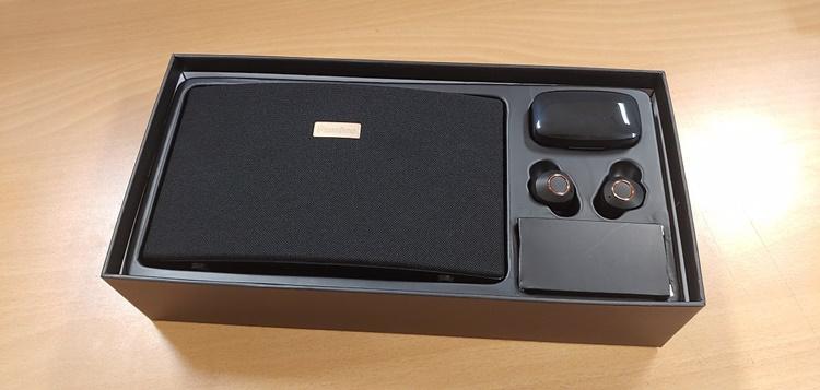 '이노 777(ENO 777)'은 크게 스피커와 무선 블루투스 이어폰(TWS)으로 구성된다.