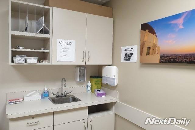 밴쿠버의 진료실 모습. 깔끔하게 정돈되어 있어 인상적이었다.