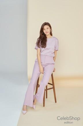 셀렙샵 에디션이 얼리 썸머 신상품으로 실켓 티셔츠 세트를 4월 초에 선보인다. 출처=CJ ENM 오쇼핑부문