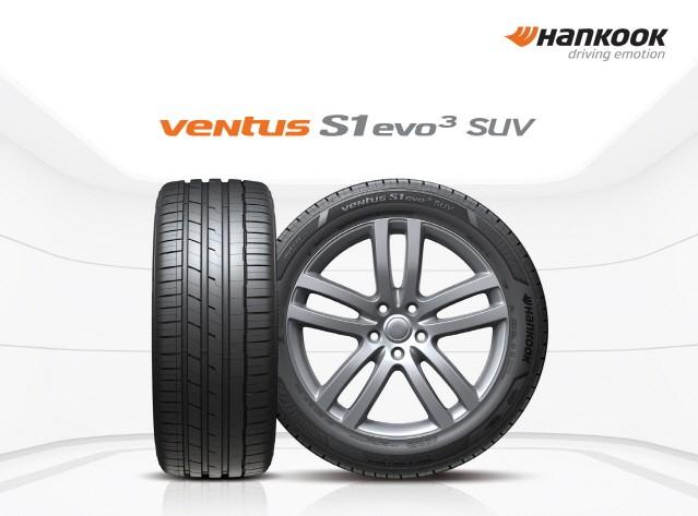 한국타이어, 초고성능 SUV 타이어 '벤투스 S1 에보3 SUV' 출시