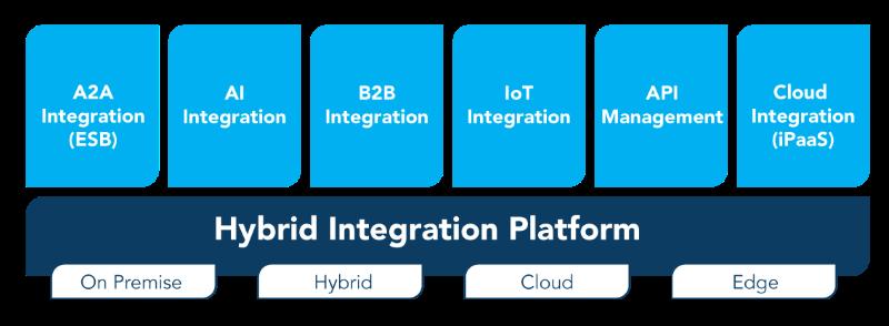 하이브리드 통합 플랫폼의 구성요소