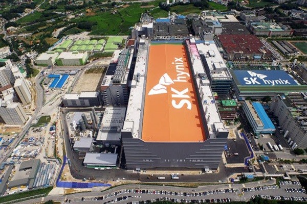 Complete view of SK Hynix's Icheon campus (Reference: SK Hynix)