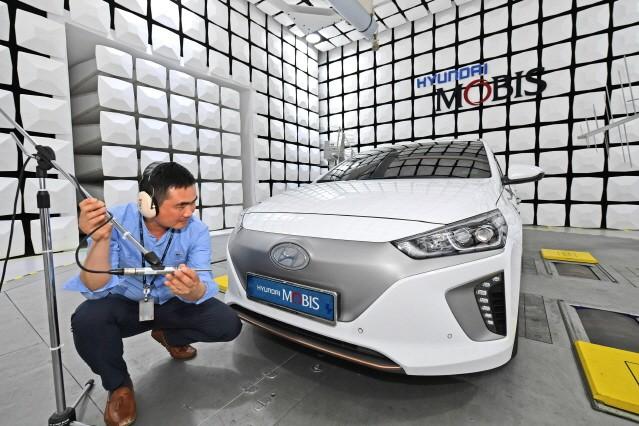 현대모비스, 전기차 그릴 가상 엔진 사운드 세계 최초 개발