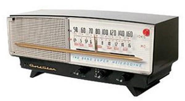 1959년 금성사가 개발한 최초의 국산라디오 A-501. 사진=Social LG전자 제공