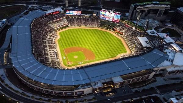애틀랜타 브래브스 경기장. 사진=MLB공식홈페이지 제공