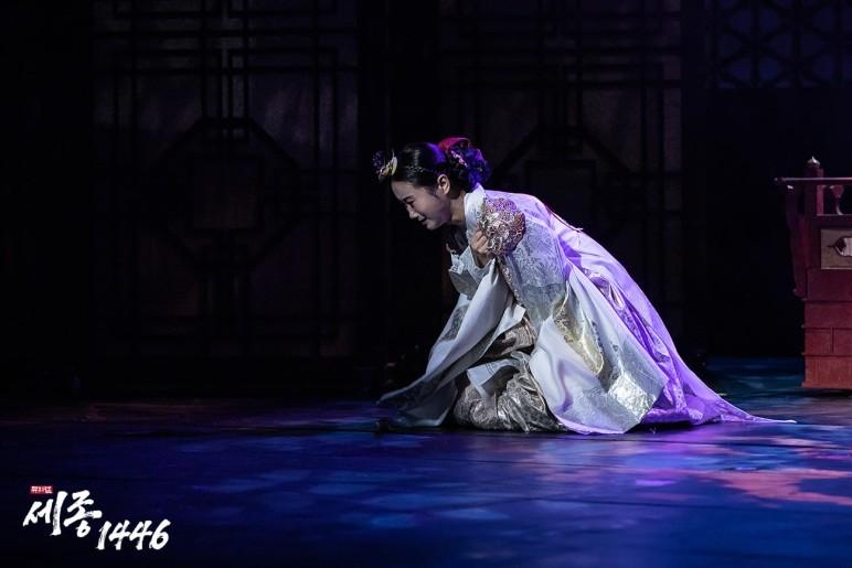 뮤지컬 '세종 1446' 공연 사진 / 이미지출처 : HJ컬쳐
