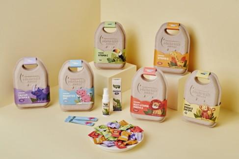 동아제약 어린이 영양제 '미니막스 정글' 7종 제품 이미지