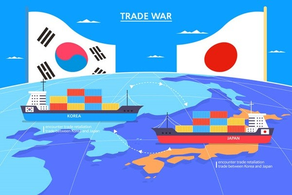 Japanese Companies Suffering from Their Government's Trade Restrictions on South Korea