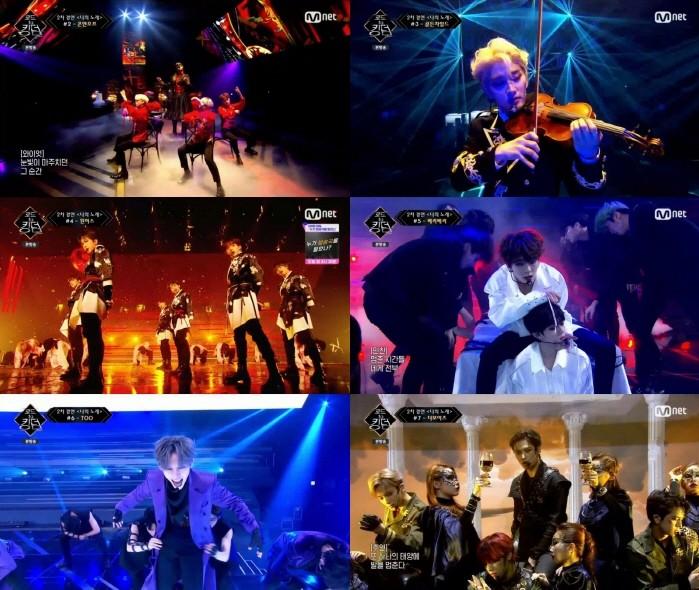사진=Mnet 로드투킹덤 캡처