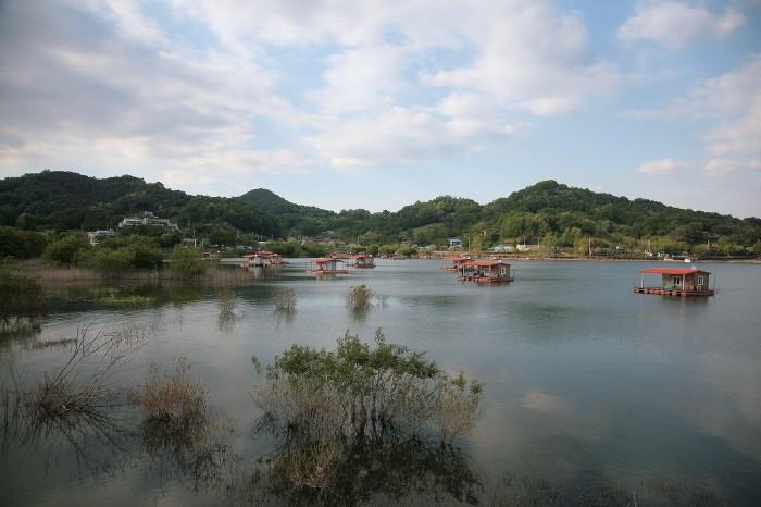 평촌삼거리로 가는 느린호수길에서의 풍경