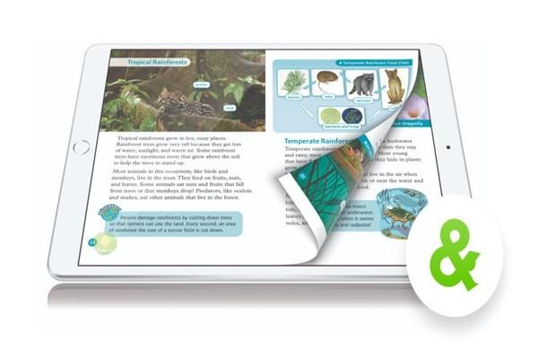 "iPortfolio's English learning service ""READING &"""