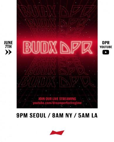 버드와이저, DPR 크루 온택트 라이브 콘서트 'BUDX DPR'