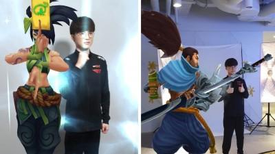 점프AR·VR 앱 찾는 롤 게이머들