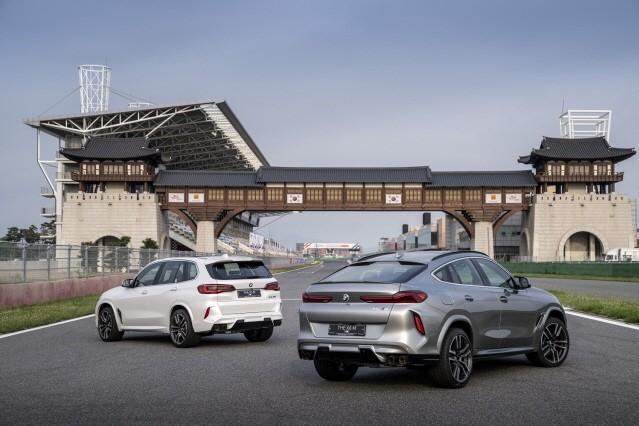 BMW, 초고성능 모델 '뉴 X5 M' 및 '뉴 X6 M' 국내 출시