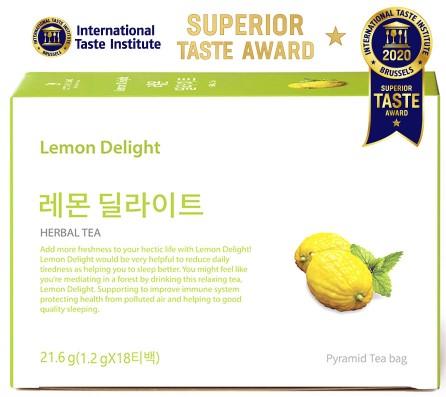 혜토 레몬딜라이트가 국제미각대회에서 수상했다.