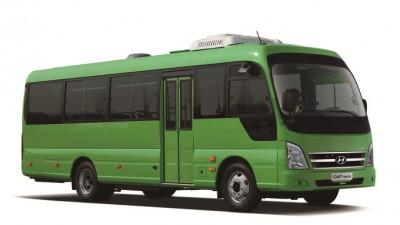 현대차, 연료비 확 줄인 친환경 중형 전기버스 '카운티 일렉트릭' 선보여