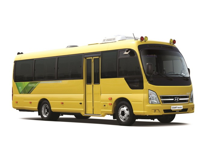 카운티 일렉트릭 어린이 버스(제공:현대자동차)