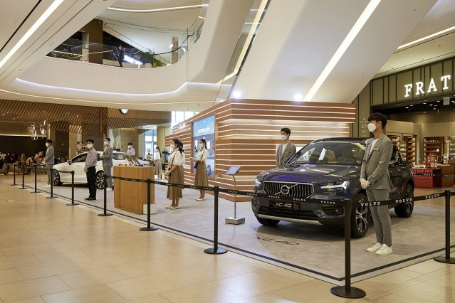 볼보자동차, 브랜드 팝업 스토어 오픈