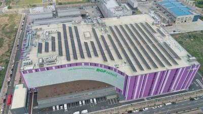 CU, 편의점 최초로 에너지 사업 진출...태양광 발전소 준공