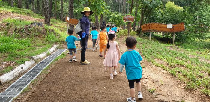 청주 구룡산 산림공원 산책로 모습(제공:산림청)