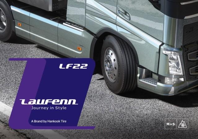 한국타이어, '라우펜' 트럭버스용 타이어 국내 출시
