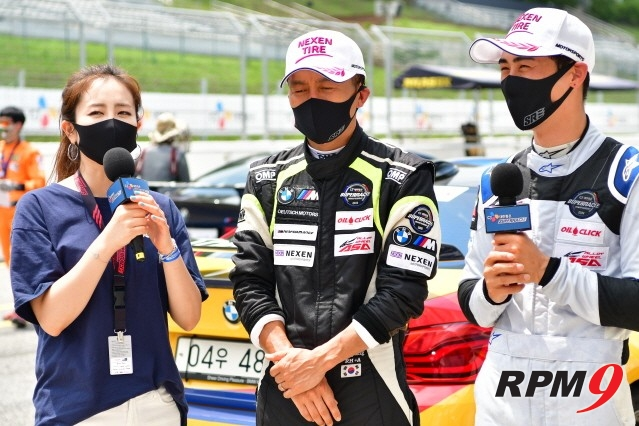 CJ슈퍼레이스 3전 BMW M 클래스, 홍진호 우승