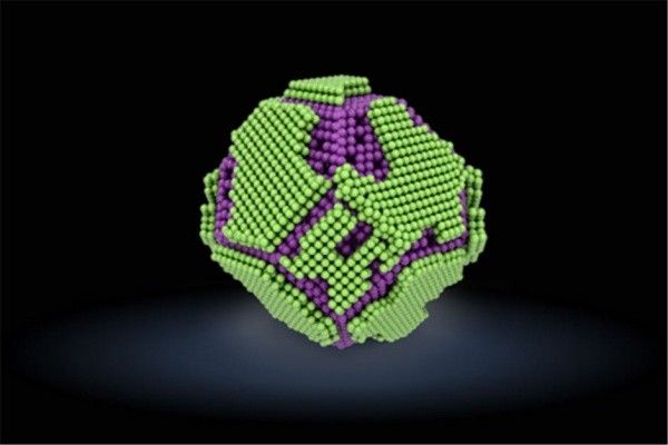 Above picture is the nanoparticle synthesized by IBS and a research team from Seoul National University's School of Dentistry and it protects human body from radiation exposure.