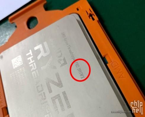 중국 포럼에서 유출된 라이젠 쓰레드리퍼 프로 3995WX [출처=chiphell]
