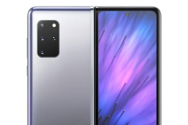 Rendering image of Galaxy Fold 2