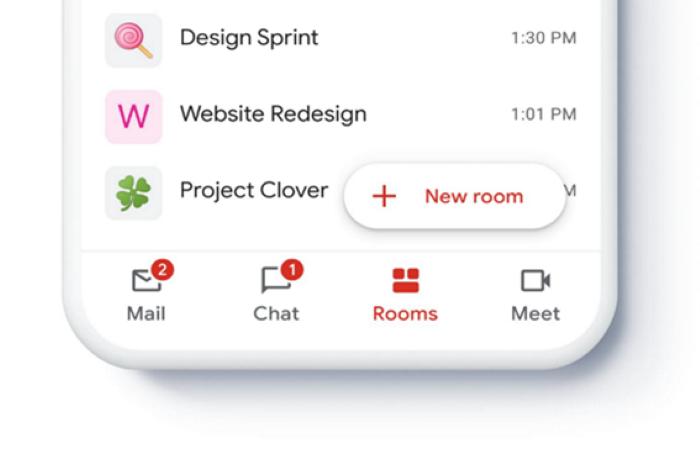 이메일, 채팅, 비디오가 통합된 구글 G스위트