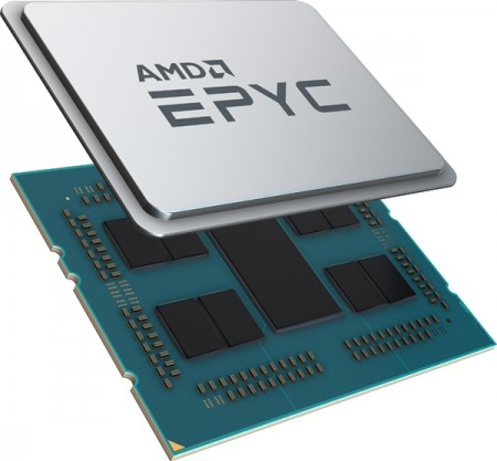 AMD 서버용 프로세서 'EPYC 2세대' [사진=AMD]