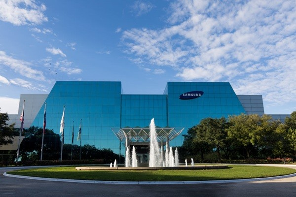 A front view of Samsung Austin Semiconductor