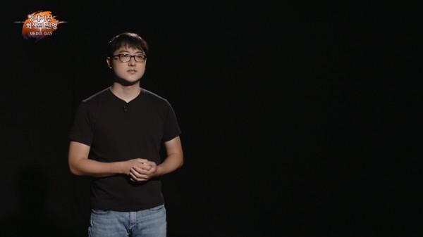 라인게임즈 김민규 대표.