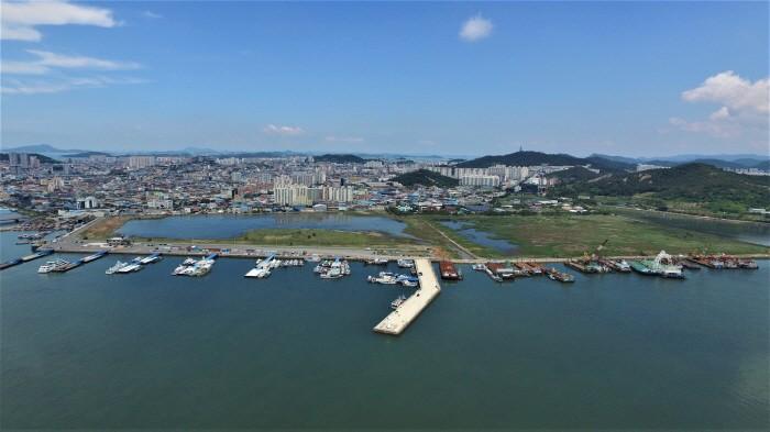 친환경선박 메카로 조성되는 목포 남항(제공:목포시)