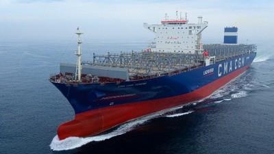 현대중공업그룹, 세계 최초 LNG추진 컨테이너선 인도 예정